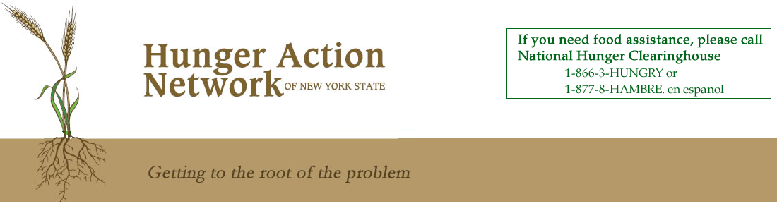Hunger Action Network in NYS Logo
